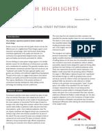 Residential Street Pattern
