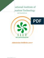 InternationalInstituteof InformationTechnology