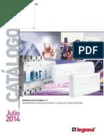 201407 Legrand Catálogo Julio 2014