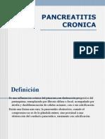 PANCREATITIS CRONICA clase