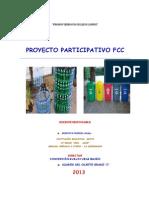 Proyecto Participativo 4to c