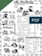 Daily Routnes Crosswords