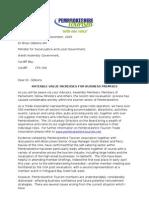 Rates to Dr Gibbon Letter