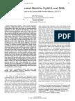 DCD, a Potential Shield to Uplift Local Milk (Case Study based on Sri Lankan Milk Powder Industry, 2012/13)