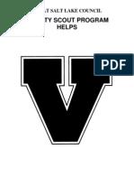Varsity Program Helps