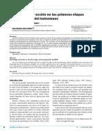 Conocimiento y Acción en Las Primeras Etapas de Aprendizaje de Balonmano. J.a. GARCIA HERRERO