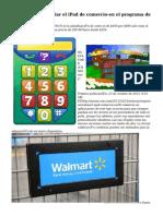 Wal-Mart para iniciar el iPad de comercio-en el programa de