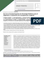 Toxoplasmosis Congénita Tratamiento