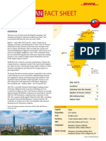 Exporting to Taiwan - The DHL Fact Sheet