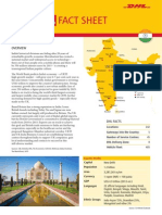 Exporting/Importing with India - The DHL Fact Sheet
