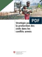 Stratégie pour  la protection des  civils dans les  conflits armés