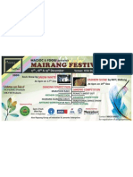 Mairang Festival Billboard