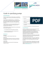 Flowcheck Guide to Pumps