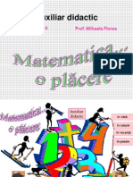 Matematica o Placere
