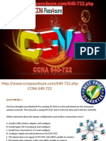 Free Download CCNA PDF Exam 640-722