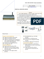 f3125 Gprs Router Specification