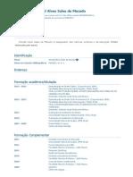 (NOVO) Currículo Do Sistema de Currículos Lattes (Wendel Alves Sales de Macedo)