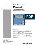 Prophi Manual English
