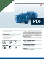 Katalog Pedrollo JSW1 Pumpe