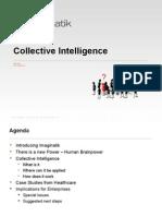 "Mark Turrell Imaginatik keynote  ""Collective Intelligence & Healthcare"" at the Ideagoras Conference"