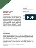 Syllabus - International Legal Theory - Geneva Institute