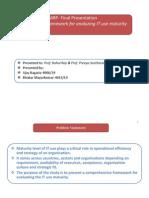 Final Presentation of MRP-1