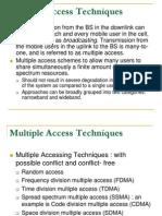 Chapter 7 Multiple Access Techniques