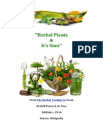 "The herbal plants & its uses from ""The Herbal Trading Co"""