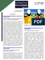 Newsletter Intercalar da CAMMP de Julho de 2014