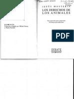 Mosterín, J., Los Derechos de Los Animales
