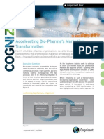 Accelerating Bio-Pharma's Marketing Transformation