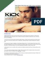 Kick Movie Review