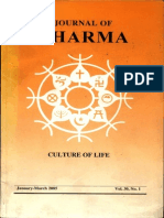 Journal of Dharma Jan - March. 2005 Vol. 30 No. 1