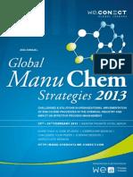 2nd Annual Global ManuCHEM Strategies 2013_agenda