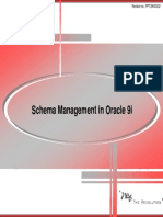 07 Schema Management in Oracle 9i