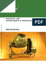 Manual de Betoneira