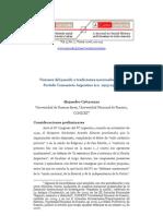 Alejandro Cattaruzza - Visiones del pasado y tradiciones nacionales en el Partido Comunista Argentino-. 1925-1950-