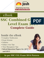 Ssc Combined Graduate Level Exam 2014 Complete Guide eBook