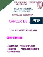 6ta Mesa Redonda(Cancer Cervix)-Dra.vargas