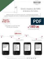 Teleprom SMS Prestaciones y Aptitudes