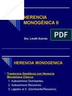 MONOGENICA II VI SEMESTRE junio 2009