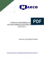 1505 Manual Unidad Oleohidraulica Codelco Tte Filtros Prensa Rev Nº 3