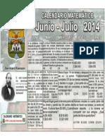 Junio Julio 2014