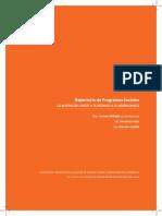 Repertorio de Programas Sociales. La Protección Social a La Infanica y Adolescancia.