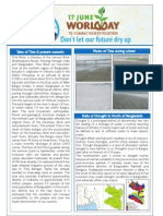 Drought and Environmental Condition of North Bengal