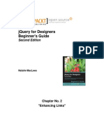9781783284535_jQuery_for_Designers_Beginner's_Guide_Second_Edition_Sample_Chapter