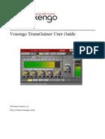 Voxengo TransGainer User Guide En