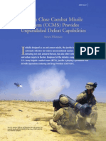 37 Javelin Close Combat Missile System (CCMS) Provides Unparalleled Defeat Capabilities 200907
