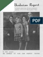 Courtney Thomas Frances 1967 Rhodesia