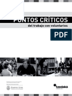 Puntos Criticos en El Trabajo Con Voluntarios